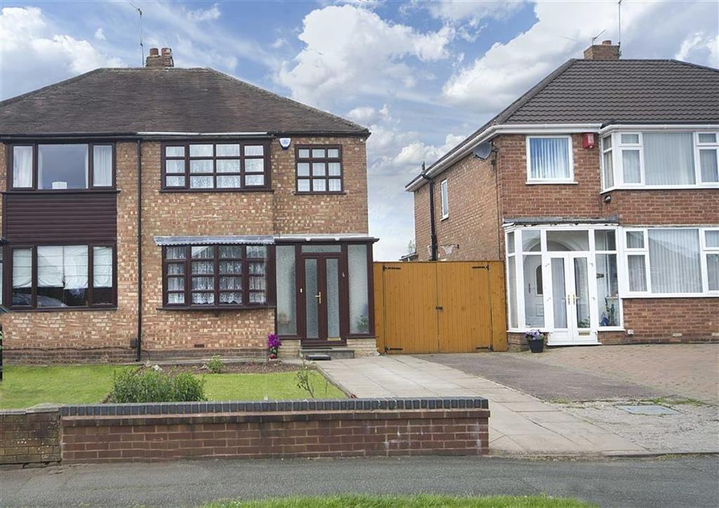 3 Bedrooms Semi Detached House for sale in 24, Crossland Crescent, Claregate, Wolverhampton, West Midlands, WV6