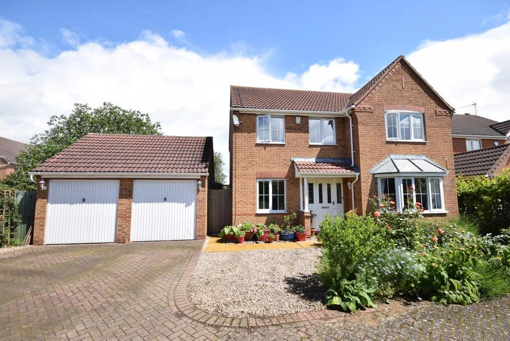4 Bedrooms Detached House for sale in Eyam Close, Desborough