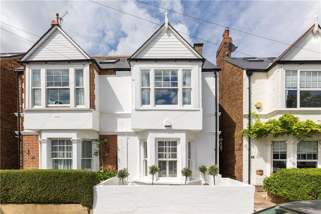 4 Bedrooms Terraced House for sale in Graham Road, Chiswick, London, W4