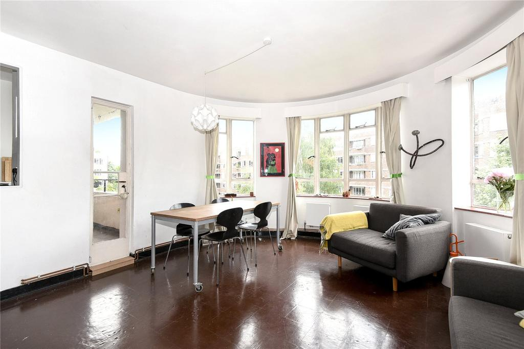 3 Bedrooms Apartment Flat for sale in Ruskin Park House, Champion Hill, London, SE5
