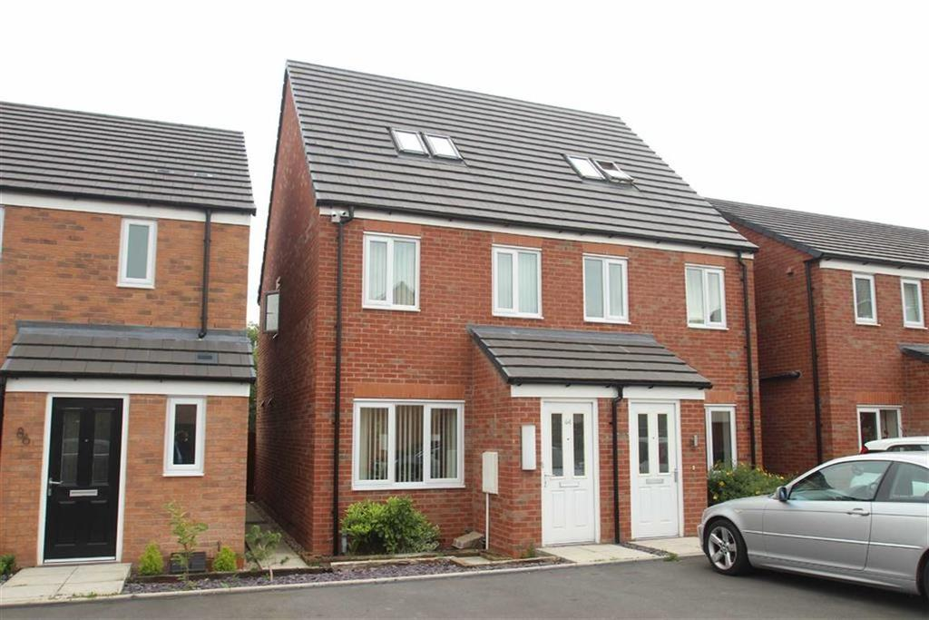 3 Bedrooms Semi Detached House for sale in Yew Tree Close, Spring Gardens, Shrewsbury