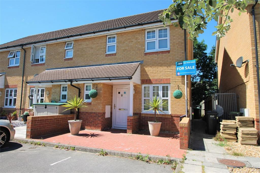 3 Bedrooms End Of Terrace House for sale in Harvard Close, Lee-on-the-Solent, Hampshire