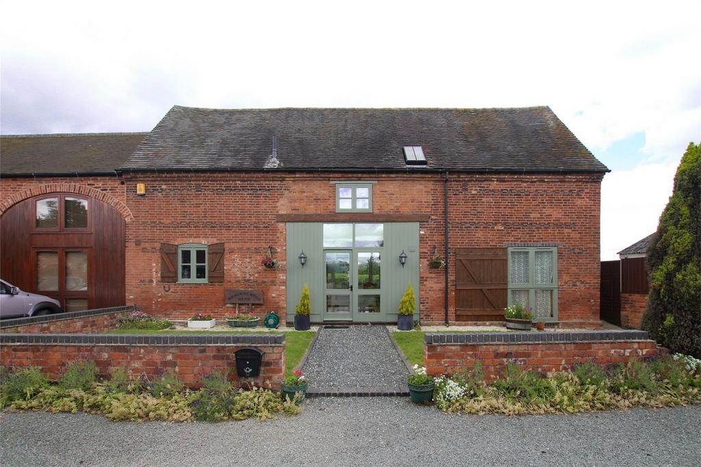 2 Bedrooms Mews House for sale in Hurst Farm, Whittington Hurst, Lichfield, Staffordshire