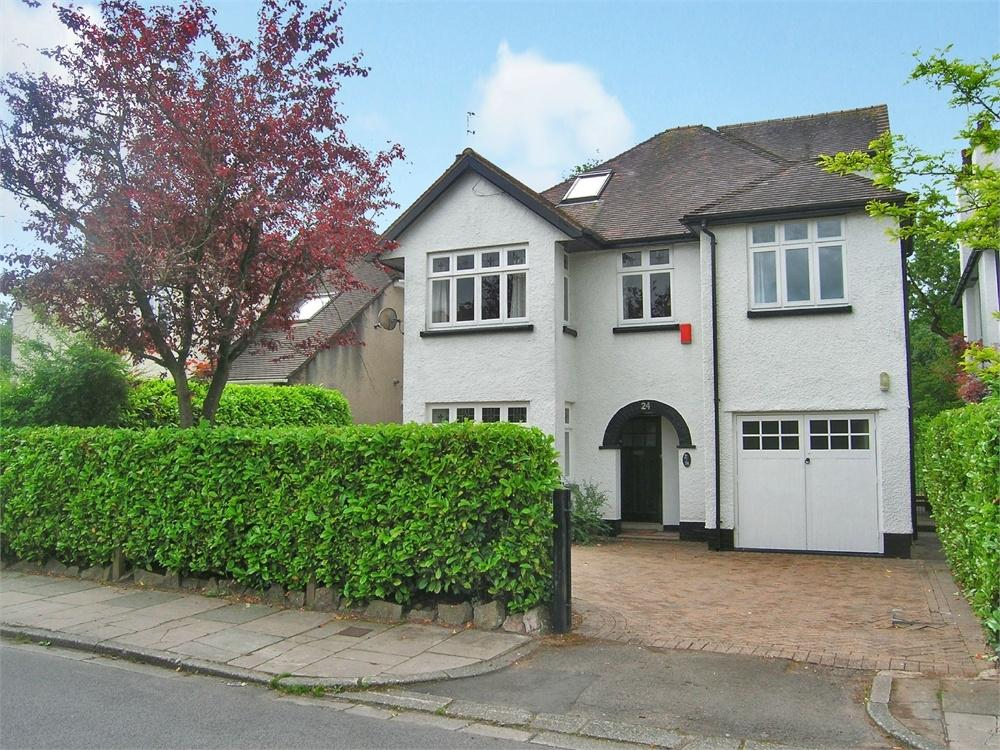 5 Bedrooms Detached House for sale in Dan-y-Coed Road, Cyncoed, Cardiff