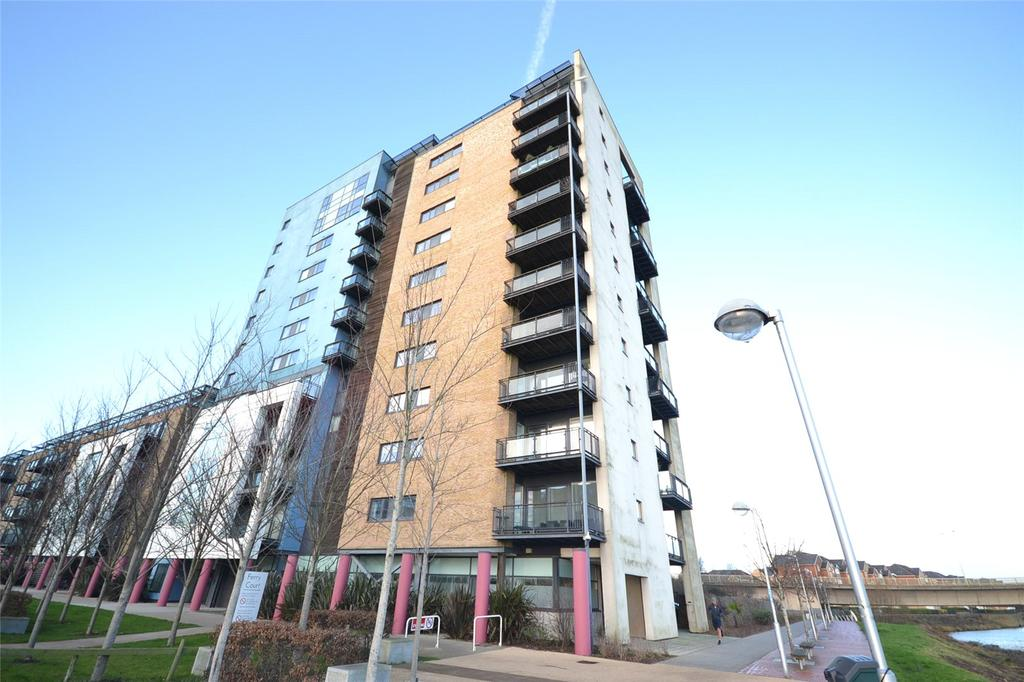 2 Bedrooms Apartment Flat for sale in Lady Isle House, Ferry Court, Cardiff, CF11