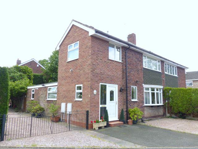 3 Bedrooms Semi Detached House for sale in Ringwood Avenue,Aldridge,Walsall