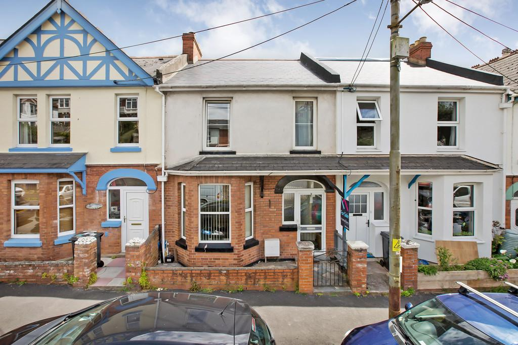 3 Bedrooms Terraced House for sale in Third Avenue, Teignmouth, TQ14 9DW