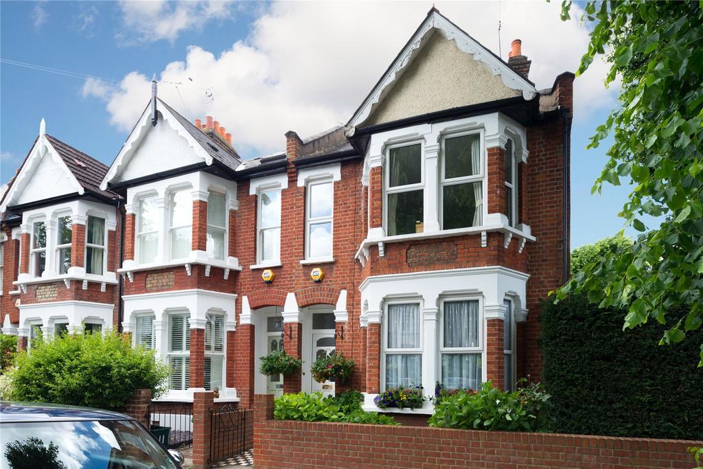 3 Bedrooms End Of Terrace House for sale in Hazledene Road, Chiswick, London