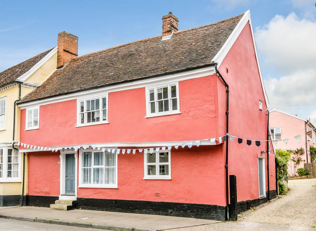 3 Bedrooms End Of Terrace House for sale in High Street, Hadleigh, Ipswich, Suffolk, IP7 5EL