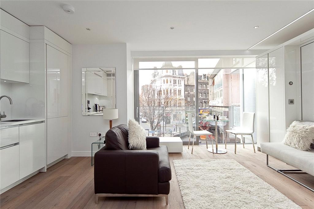 Studio Flat for sale in Central St Giles Piazza, Covent Garden, London, WC2H