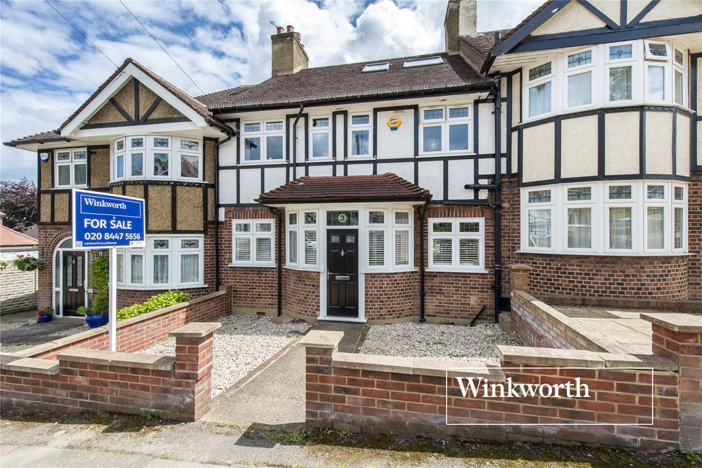4 Bedrooms Terraced House for sale in Milton Avenue, High Barnet, Herts, EN5