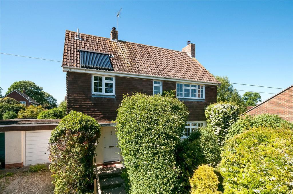 4 Bedrooms Detached House for sale in Queenwood Road, Broughton, Stockbridge, Hampshire, SO20