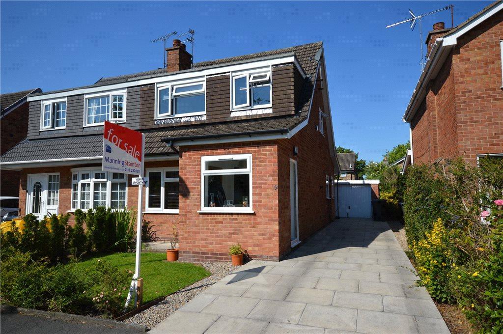 3 Bedrooms Semi Detached House for sale in Birkdale Mount, Leeds, West Yorkshire