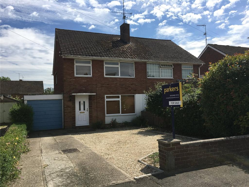 3 Bedrooms Semi Detached House for sale in Underwood Road, Reading, Berkshire, RG30