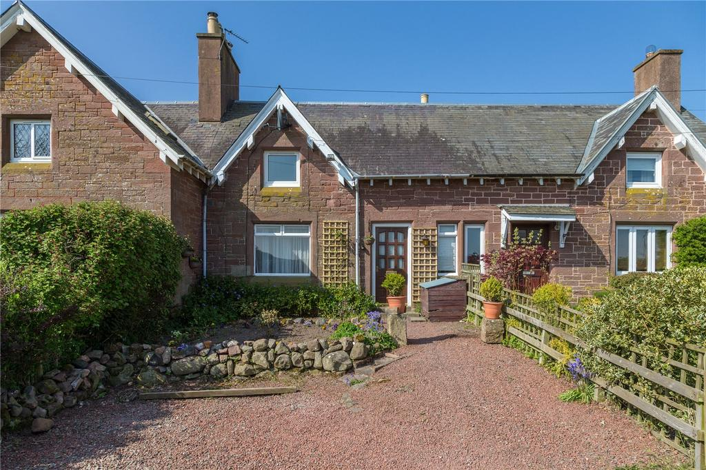 2 Bedrooms Terraced House for sale in Brier Cottage, Wester Wooden Cottages, Eckford, Kelso, Scottish Borders