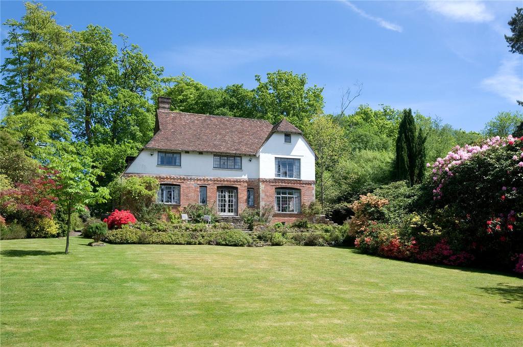 4 Bedrooms Detached House for sale in Warren Lane, Cross in Hand, Heathfield, East Sussex