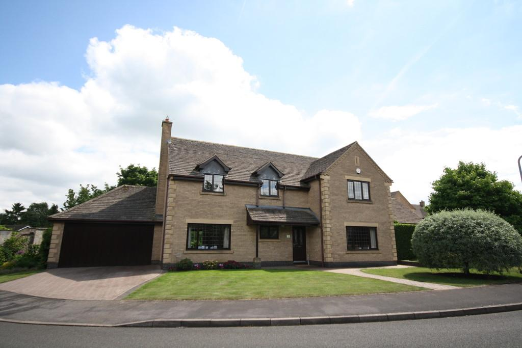 4 Bedrooms Detached House for sale in The Charters, Uffington