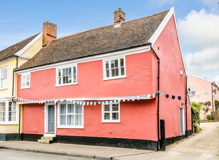 3 Bedrooms End Of Terrace House for sale in High Street, Hadleigh, Ipswich, Suffolk, IP7