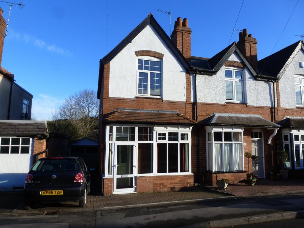 2 Bedrooms End Of Terrace House for sale in Poplar Road, Dorridge