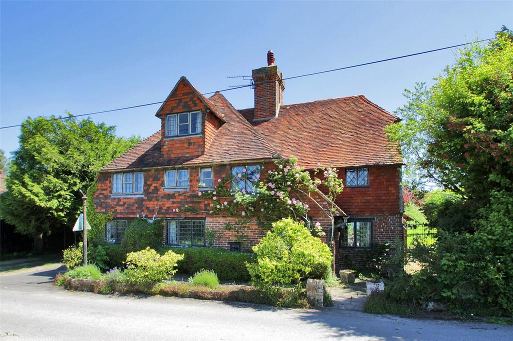 5 Bedrooms Detached House for sale in Shernden Lane, Marsh Green, Edenbridge, Kent, TN8