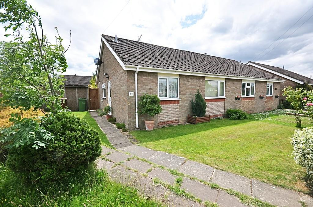 2 Bedrooms Semi Detached Bungalow for sale in Rectory Road, Dickleburgh