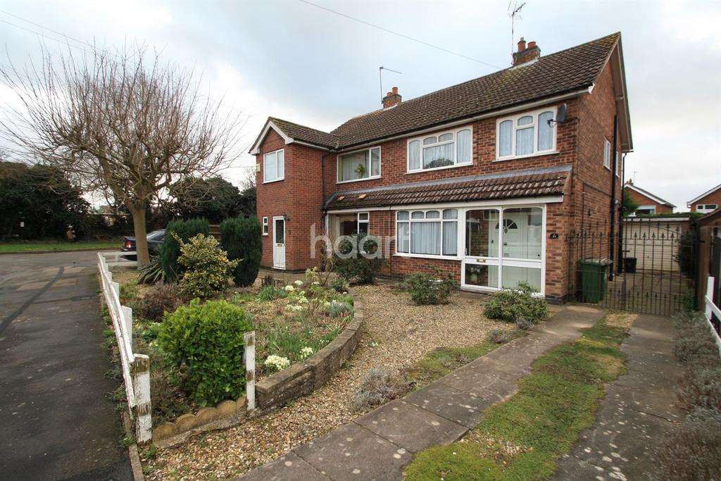 3 Bedrooms Semi Detached House for sale in Wareham Road, Blaby, Liecester