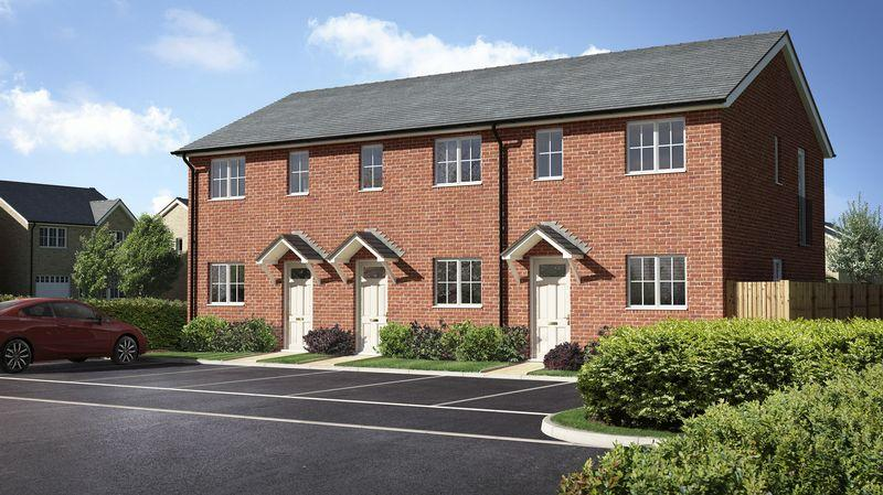 2 Bedrooms Terraced House for sale in Plot 3, Meadow Dale, Barley Meadows, Llanymynech