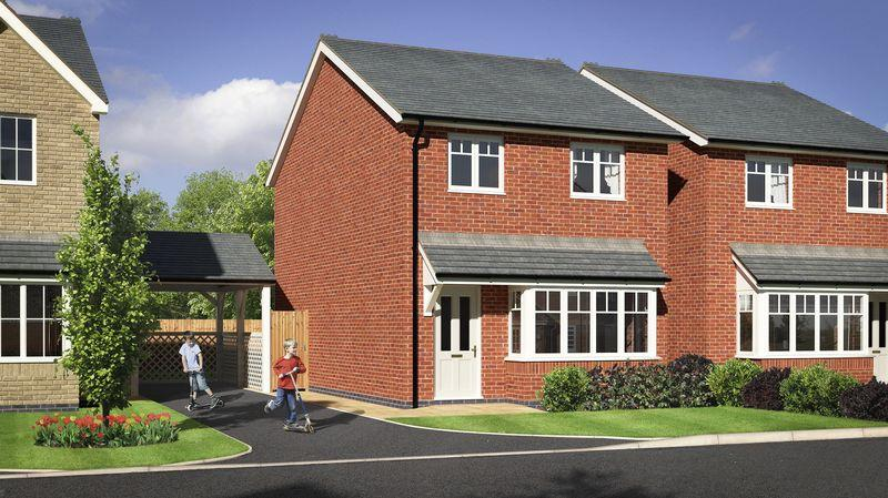 3 Bedrooms Detached House for sale in Plot 32, Meadow Dale, Barley Meadows, Llanymynech