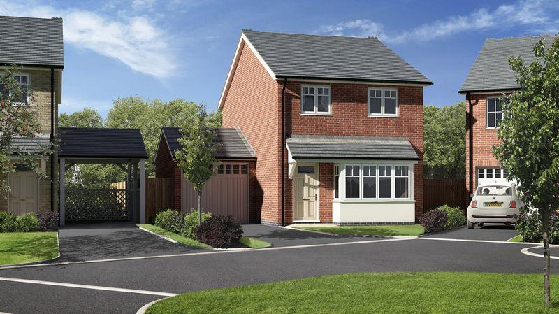 3 Bedrooms Detached House for sale in Plot 35, Meadow Dale, Barley Meadows, Llanymynech