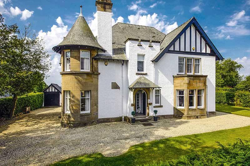 6 Bedrooms Detached House for sale in Eastfield, 116 Old Greenock Road, Bishopton, Renfrewshire, PA7