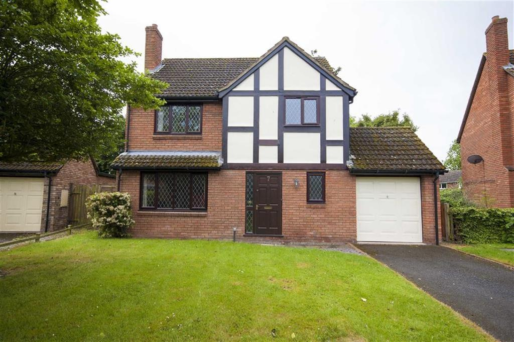 4 Bedrooms Detached House for sale in Woodlands Close, Withington, Shrewsbury, Shropshire