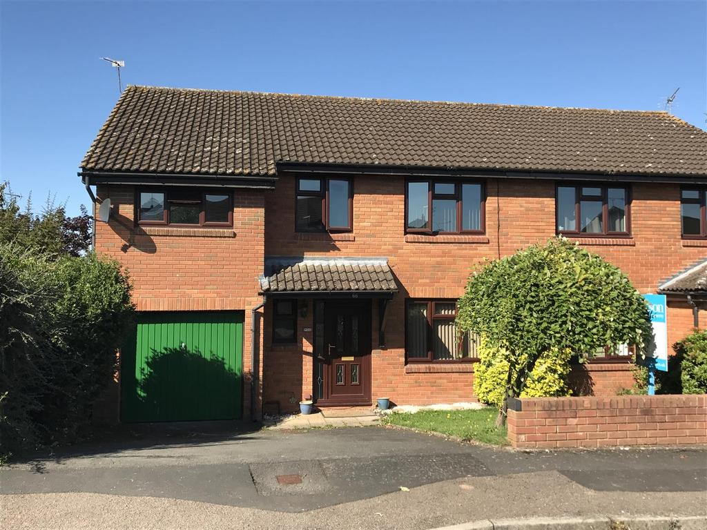 4 Bedrooms Semi Detached House for sale in Bridle Road, Hereford