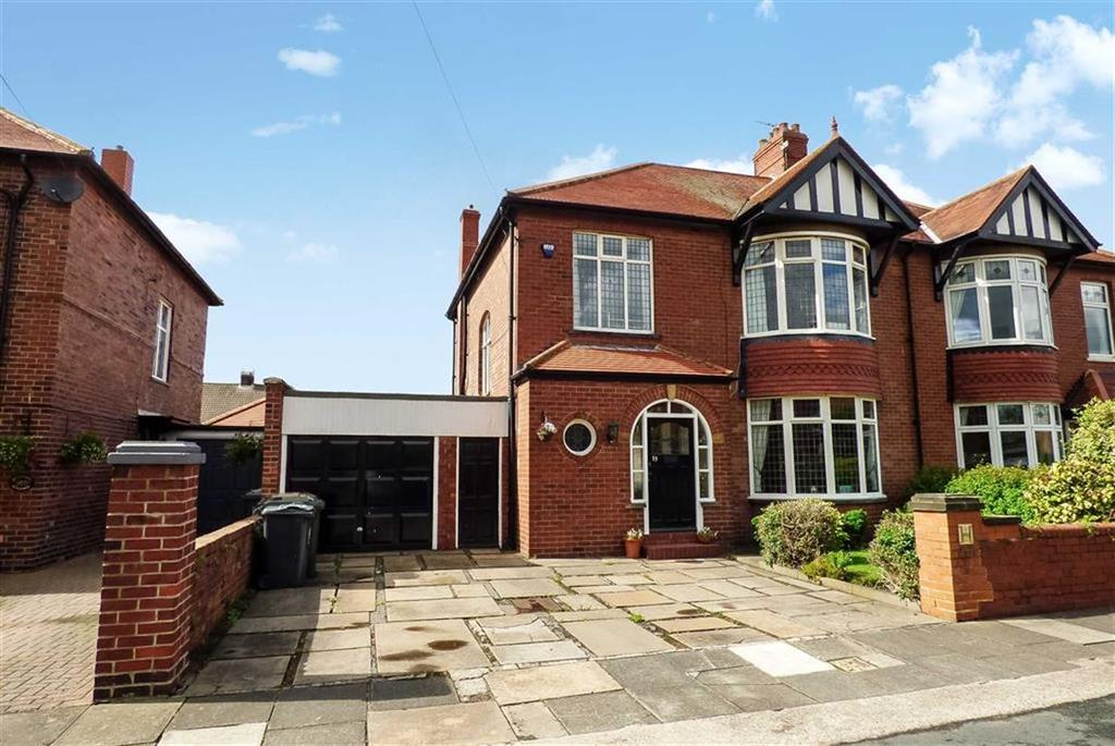 4 Bedrooms Semi Detached House for sale in Kingsway, Tynemouth