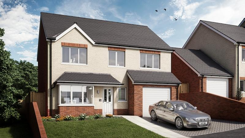 4 Bedrooms Detached House for sale in Alder, Plot 19 Waunsterw, Rhydyfro, Pontardawe.