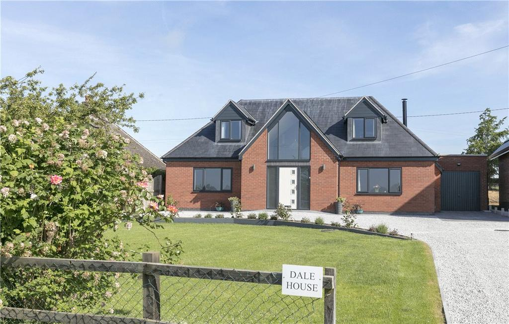 4 Bedrooms Detached House for sale in Green Lane, Oxhill, Warwick, CV35