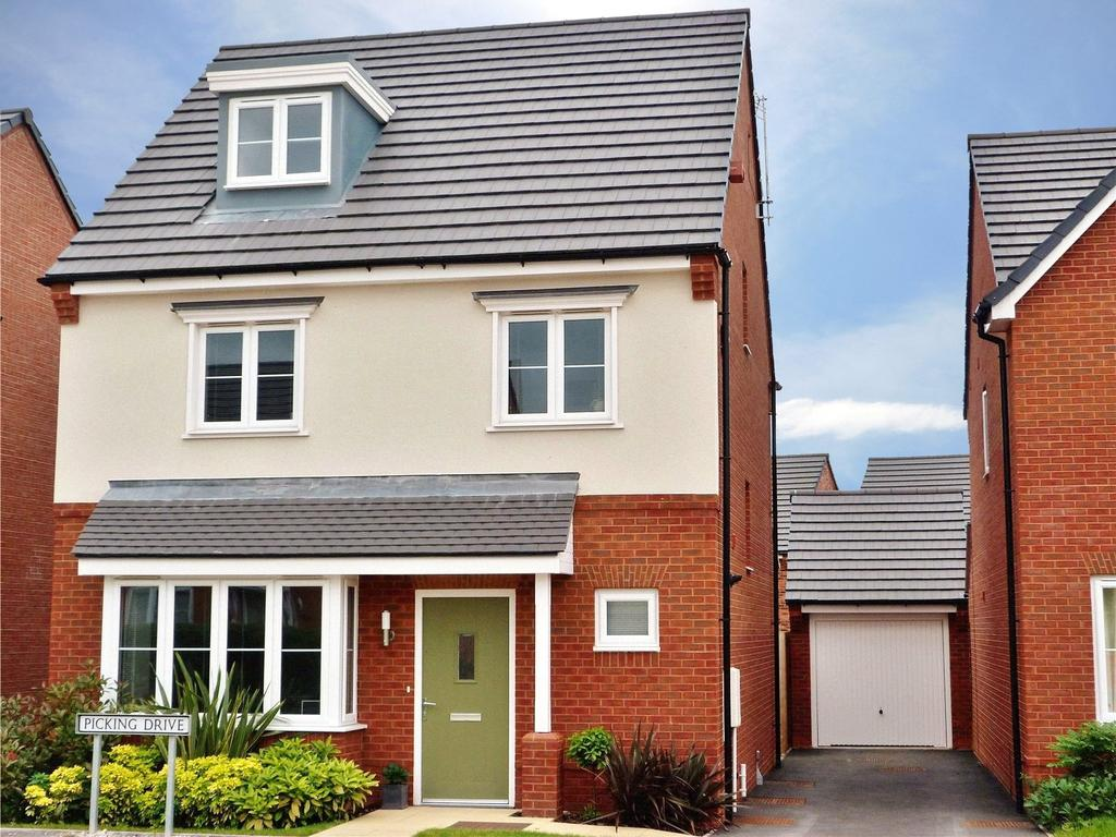 4 Bedrooms Detached House for sale in Picking Drive, Leighton, Crewe, Cheshire, CW1