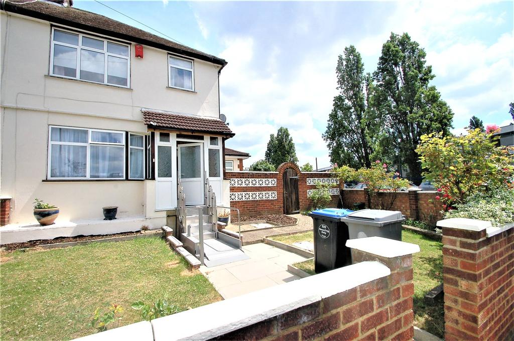 3 Bedrooms End Of Terrace House for sale in Newcombe Park, Wembley, HA0