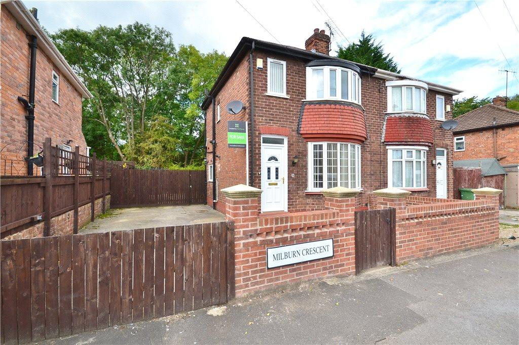 2 Bedrooms Semi Detached House for sale in Milburn Crescent, Norton, Stockton-On-Tees