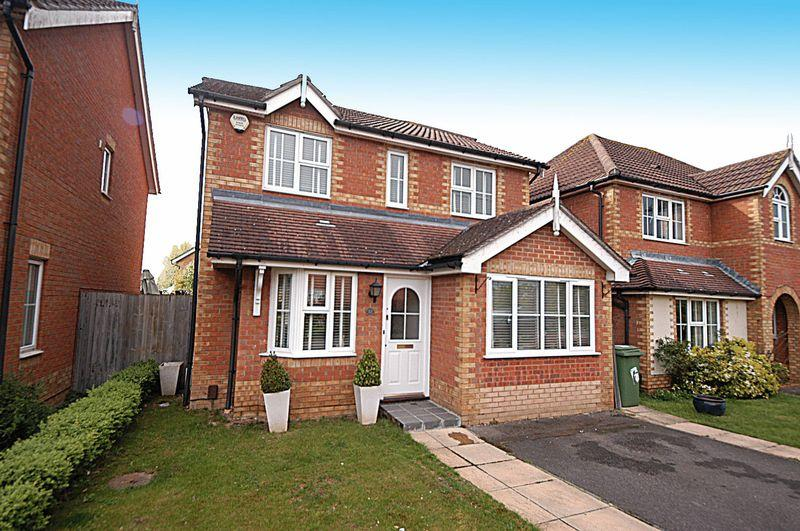 4 Bedrooms Detached House for sale in Brooker Close, Maidstone