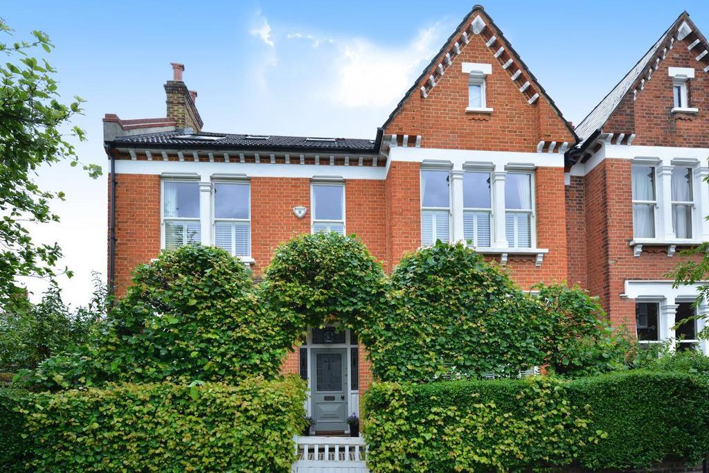 5 Bedrooms Semi Detached House for sale in Rollscourt Avenue, Herne Hill, SE24