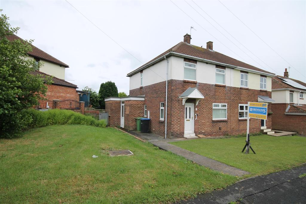 2 Bedrooms Semi Detached House for sale in Oakdene Road, Fishburn, Stockton-On-Tees