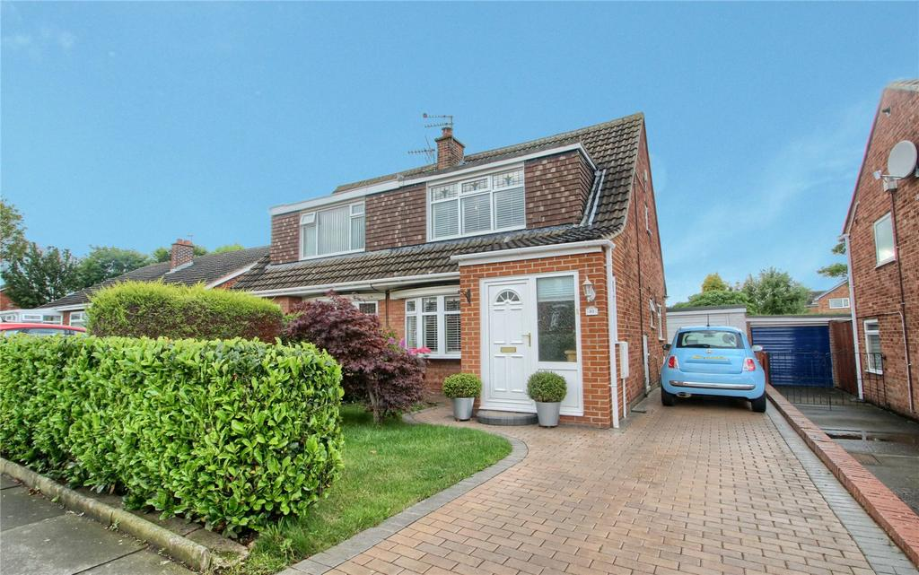 3 Bedrooms Semi Detached House for sale in Birkdale Road, Hartburn