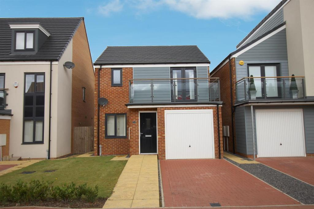 3 Bedrooms Detached House for sale in Greville Gardens, Great Park, Newcastle Upon Tyne