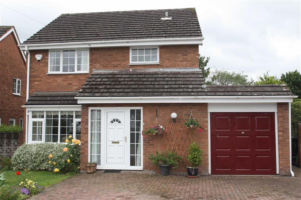 4 Bedrooms Detached House for sale in Willow Drive, Hanwood, Shrewsbury