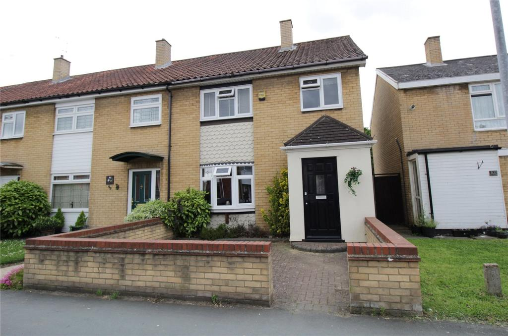 3 Bedrooms End Of Terrace House for sale in Great Knightleys, Lee Chapel, Basildon, Essex, SS15