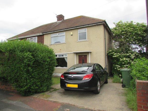 3 Bedrooms Semi Detached House for sale in THIRSK GROVE, STOCKTON ROAD, HARTLEPOOL