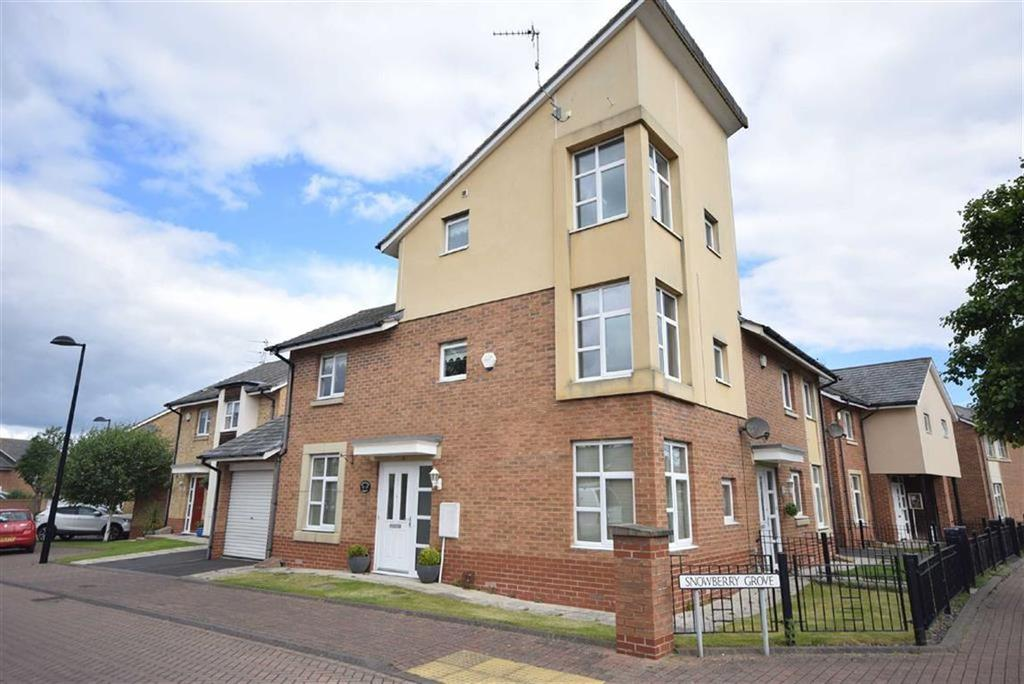 3 Bedrooms Semi Detached House for sale in Snowberry Grove, South Shields