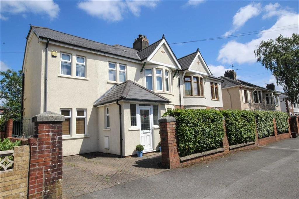 4 Bedrooms Semi Detached House for sale in Heol Don, Cardiff