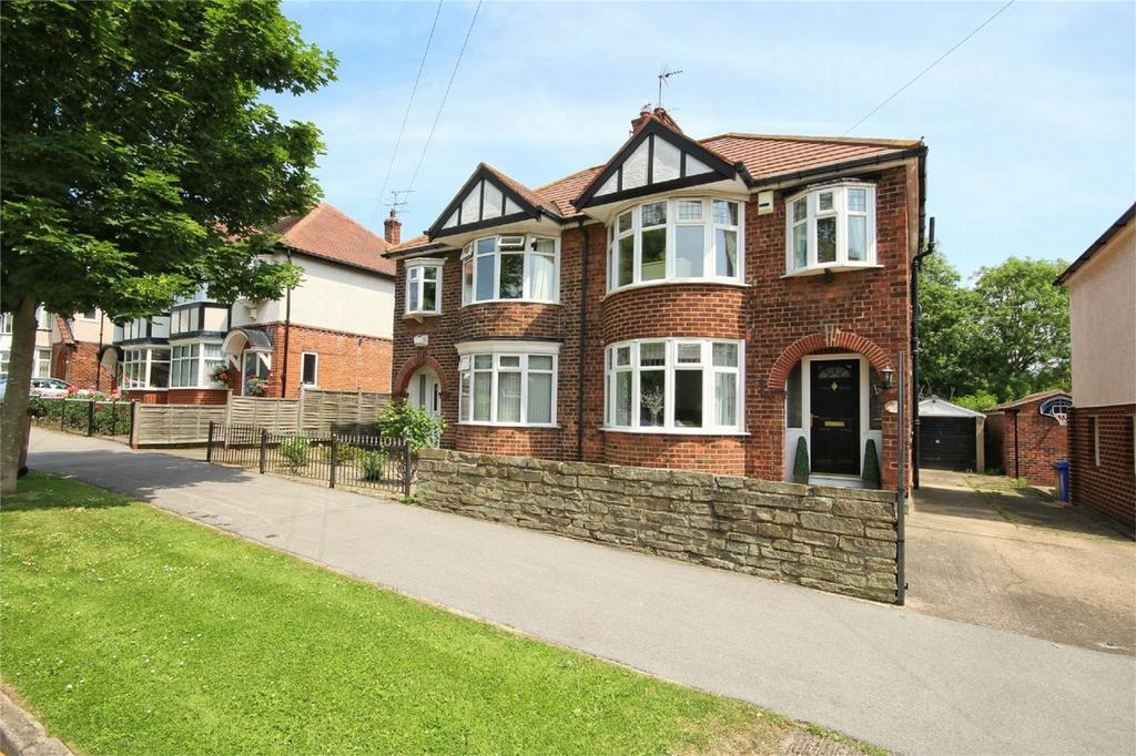 3 Bedrooms Semi Detached House for sale in Elms Drive, Kirk Ella, Hull, East Riding of Yorkshire
