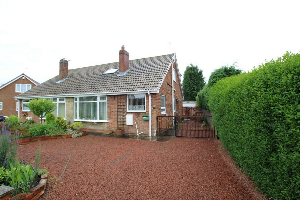 3 Bedrooms Semi Detached Bungalow for sale in Greenacre Park, Gilberdyke, East Riding of Yorkshire